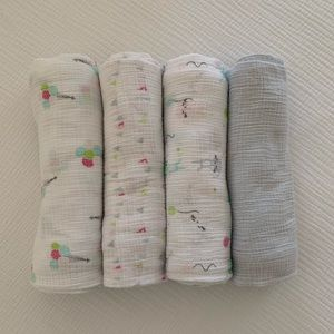 Aden by Aden + anais muslin swaddle blankets